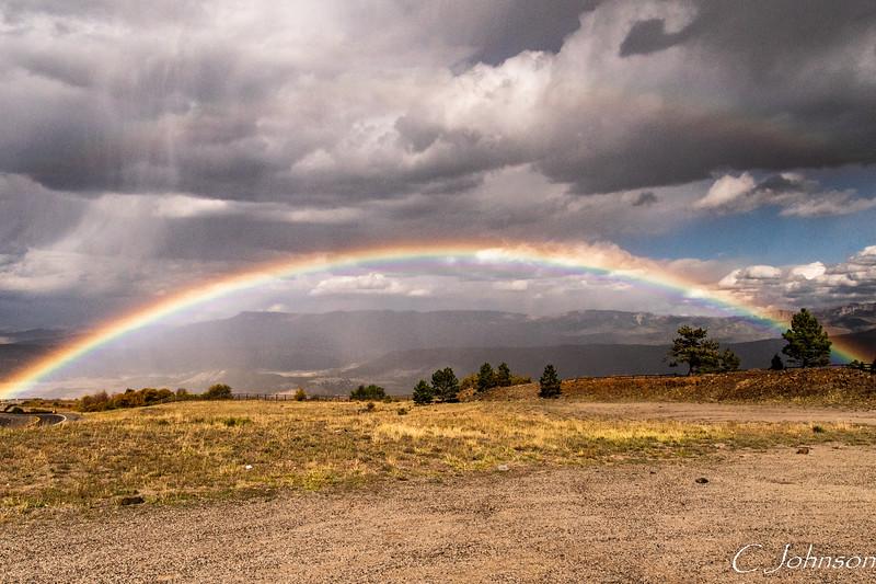 Dallas Pass Rainbow