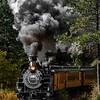 Engine 486 - Durango & Silverton Railroad