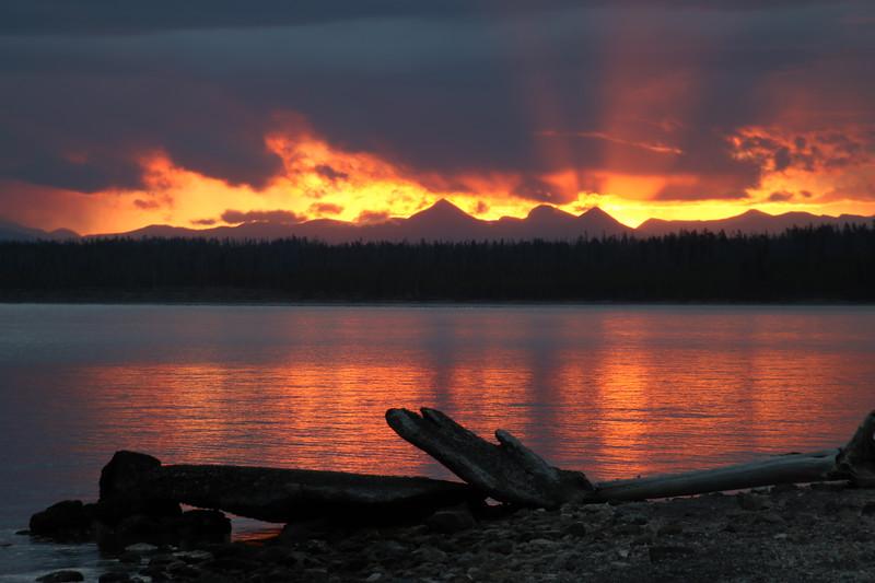 Yellowstone Lake Sunrise