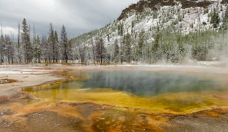 Geothermal Hot Spring - Yellowstone National Park
