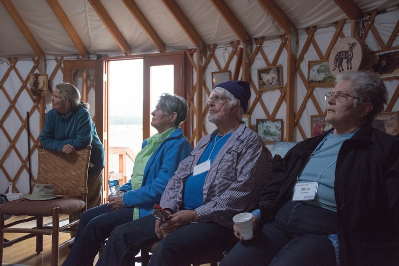 Lessons in the Yurt - Earthfire Institute