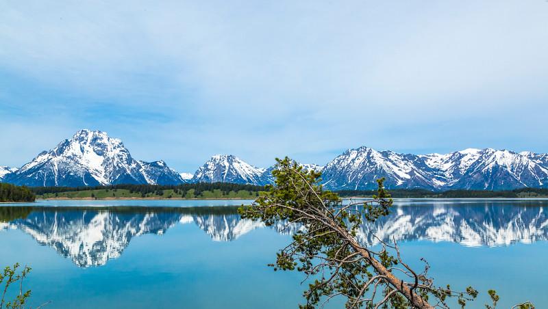Mount Moran across Jackson Lake