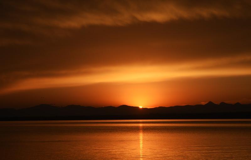 West Thumb Geyser Basin Sunrise