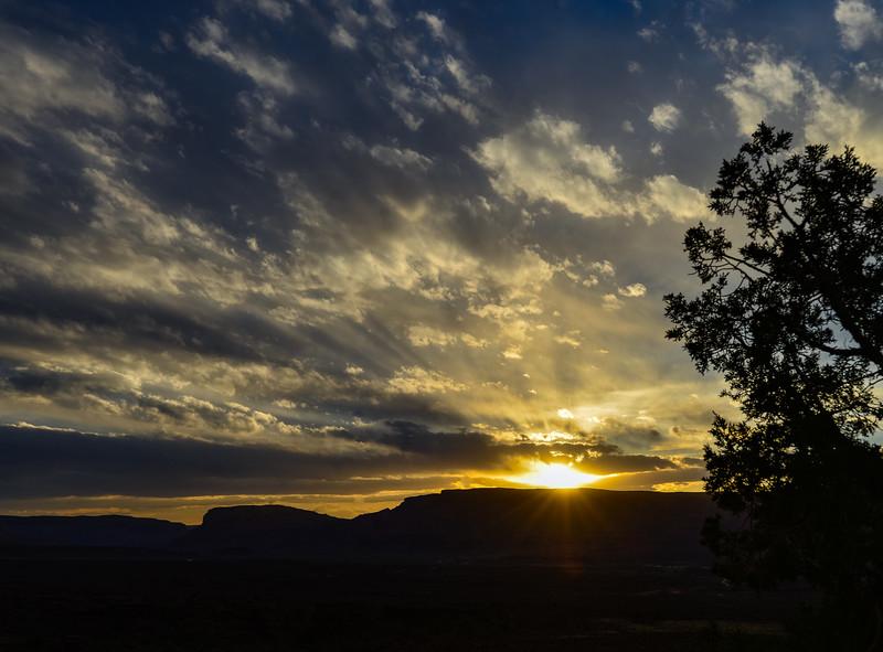 near Moab, UT / Fisher Tower