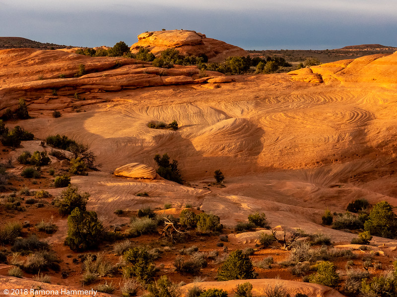 From Delicate Arch Trail
