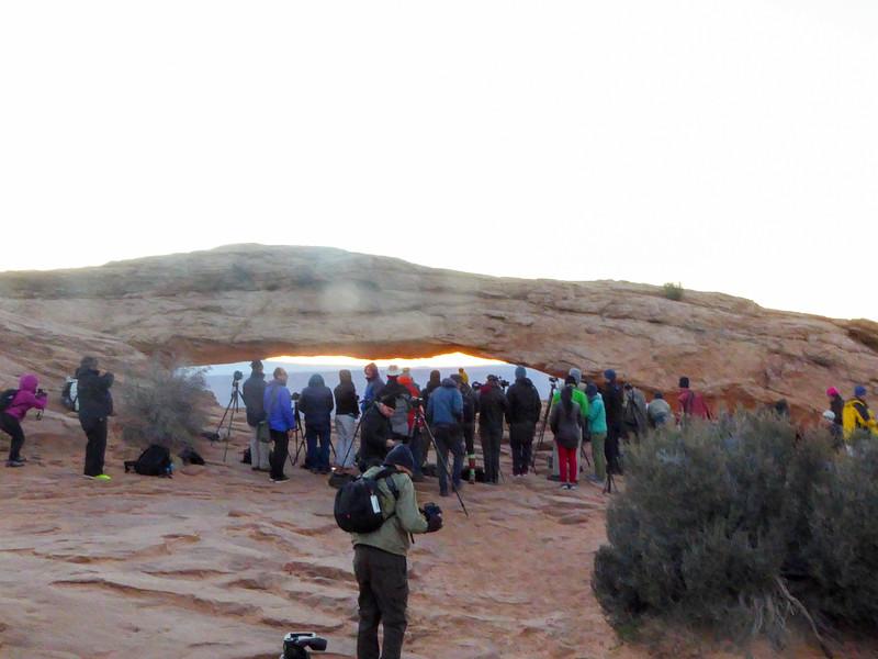 Daybreak at Mesa Arch