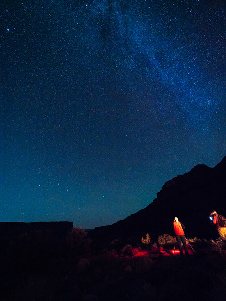 Milky Way from Fischer Towers