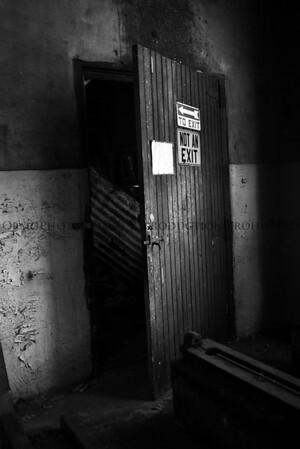 Not an Exit (B&W)