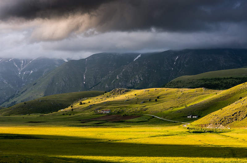 Afternoon Light in Gran Sasso, Abruzzo, Italy