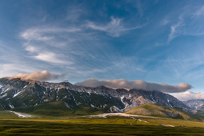Clouds over Campo Imperatore