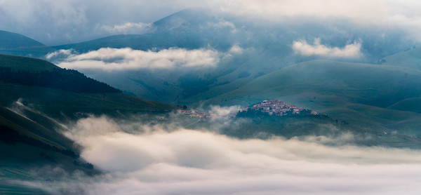 Castelluccio in early morning