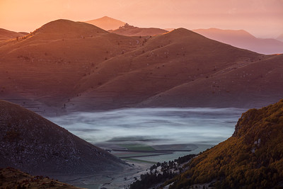 Morning on Campo Imperatore, Abruzzo