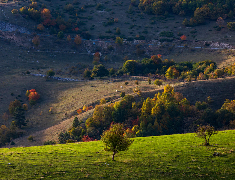 Autumn colors in Abruzzo