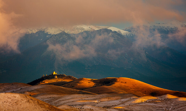 Rocca Calascio in afternoon light