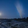 Old Faithul by Moonlight