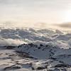 Sunrise from the summit of Mount Kilimanjaro, Uhuru Peak 19,341 ft.