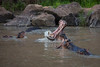 Hungry Hungry Hippos!  (Ruaha National Park, Tanzania, Africa)