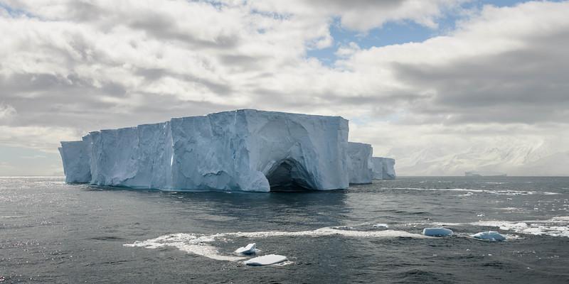Flandres Bay Tabular Iceberg