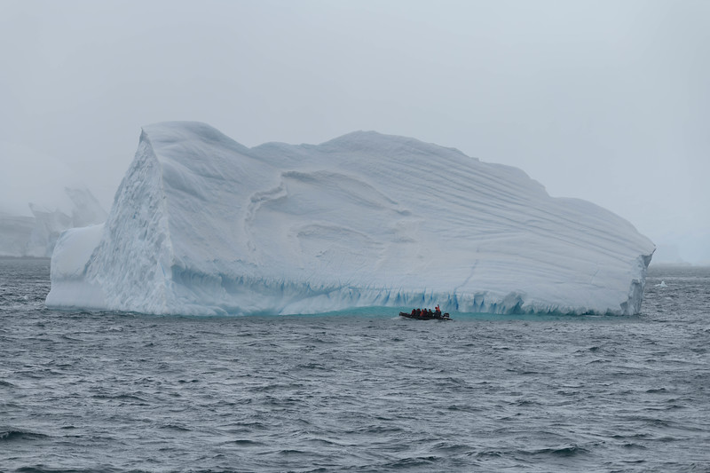 Cierva Cove Ice and Zodiac