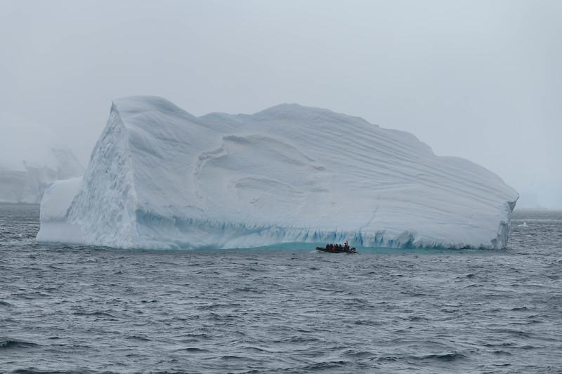 Cierva Cove Ice and Zodiac