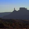 Castle Rock at Sunset