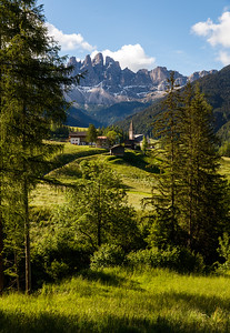 Santa Maddalena below the Odle peaks