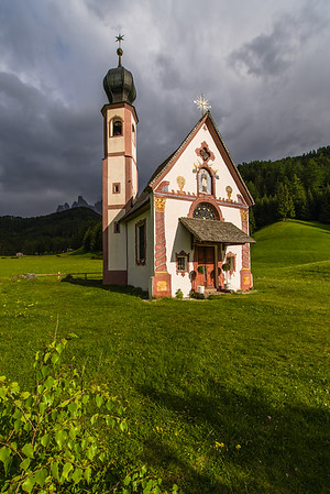 The chapel in the landscape