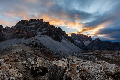 Morning at Tre Cime
