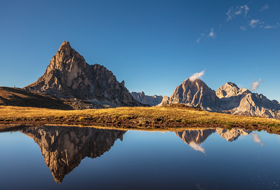 Reflection at Passo Giau