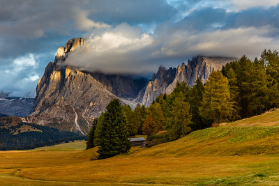 Sunset in Alpe di Siusi