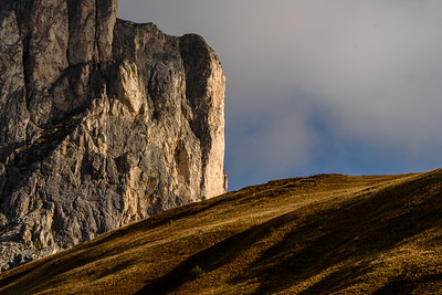 Passo Giau in morning light