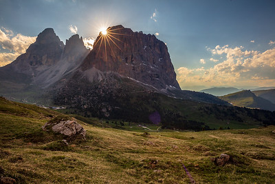 Light at Passo Sella