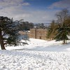 large depth of field in a snow scene landscape which needed careful exposure