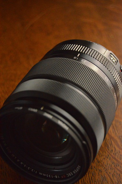 lens image with shalow depth of field