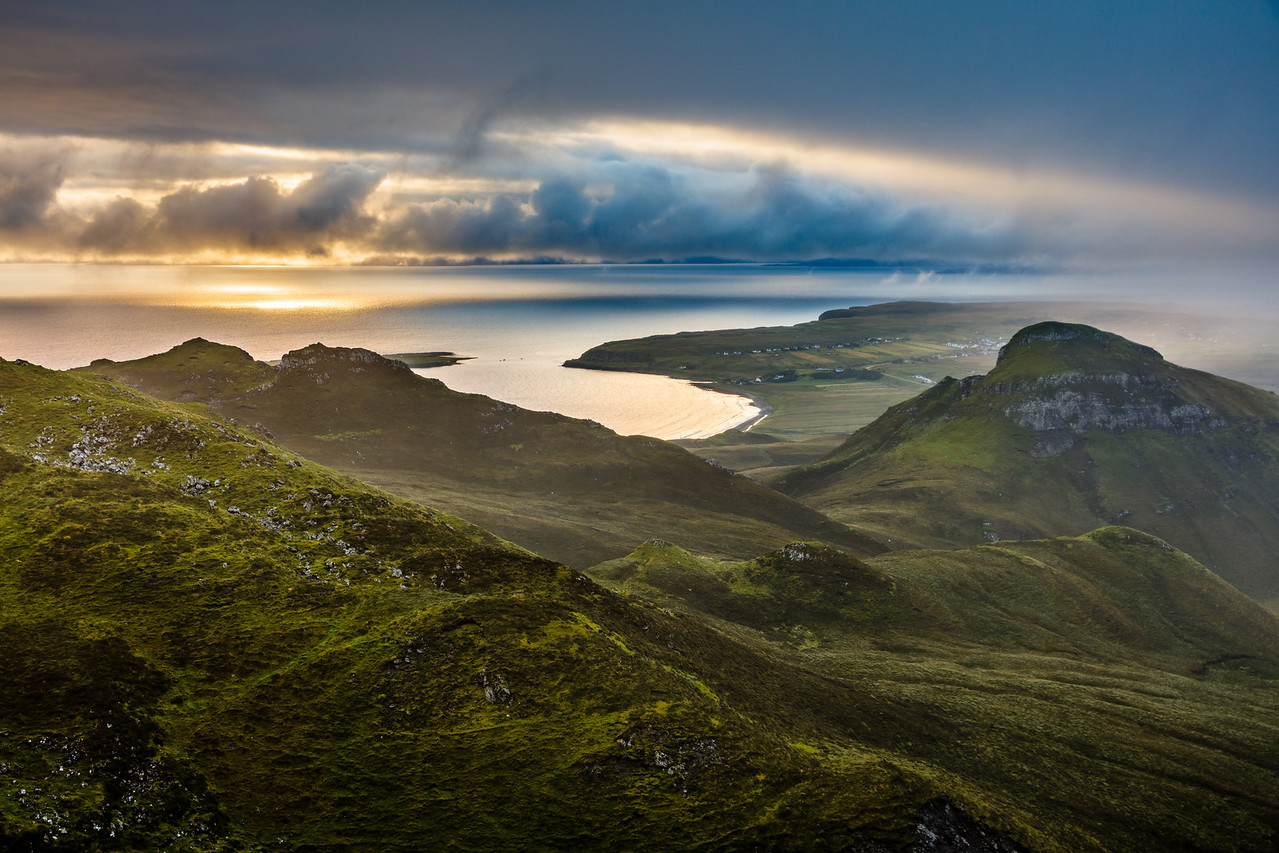 Morning in the Quiraing