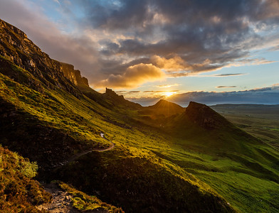 Sunrise at Quiraing