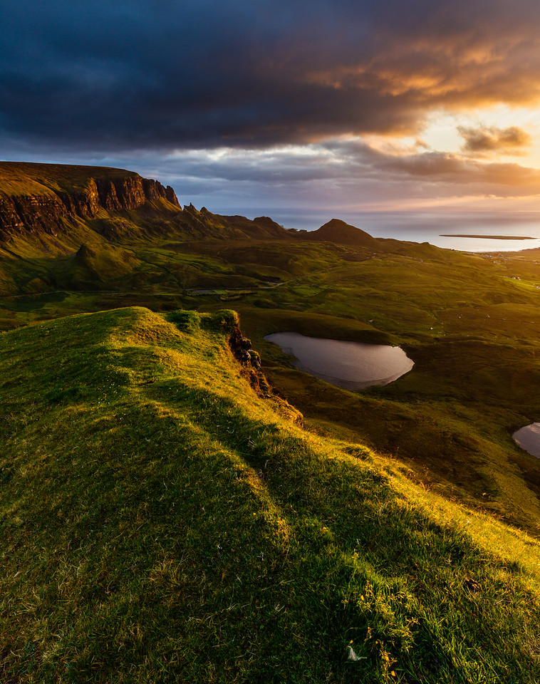 Morning on the Quiraing