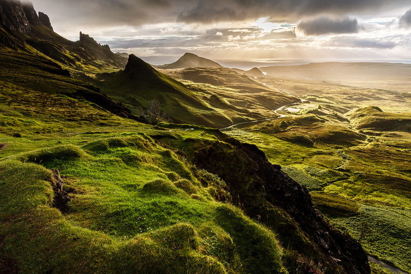 Morning light over the Quiraing
