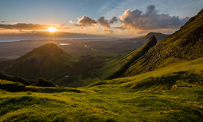 Isle of Skye in the light