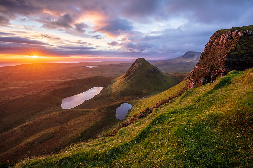 A new morning in the Quiraing