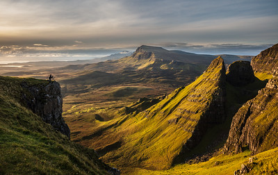 Photographer in the Quiraing
