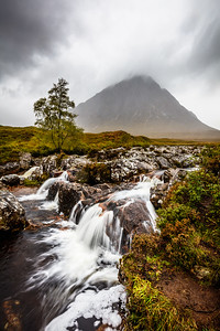 Glencoe waterfalls