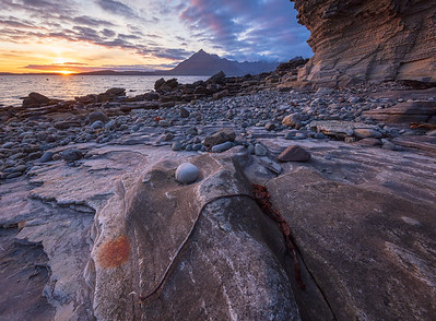 Elgol at sunset