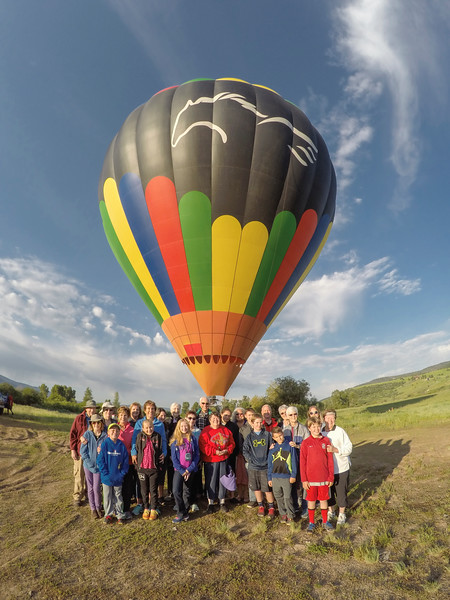 "June 20-25, 2016 ""Best of Colorado: Raft, Hot Air Balloon, and Ride Horses with Your Grandparents"" Shared Photos"