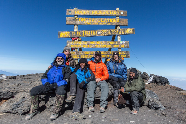 Jan 14 - Feb 1, 2017 Mount Kilimanjaro Expedition and Tanzania Safari