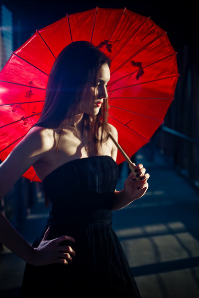 When using an ND filter in bright light can add a night time tone and adds drama to an image.