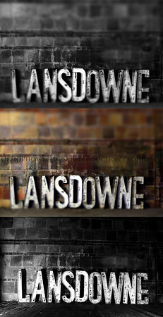Landsdowne Theater Sign (3 Views)