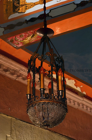 Ornate chandelier