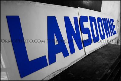Lansdowne Theater sign