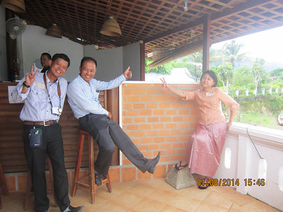 U Kway Htin, U Htin Moe Lwin and Thin Thin Moe